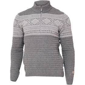 Ivanhoe of Sweden Mattis Sweater met 1/2 rits Heren, grey